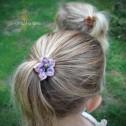 Fleur cheveux